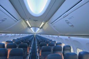 безопасные места в самолёте