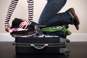 как облегчить чемодан